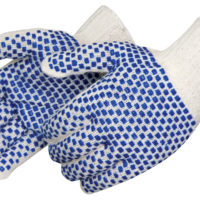 Liberty Blue Block Ladies Reversible Glove